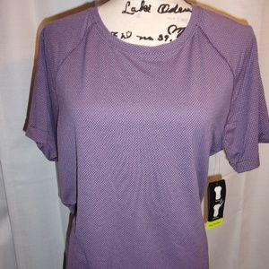 Nwt Athletic Works L 12-14 Perforamance Tee